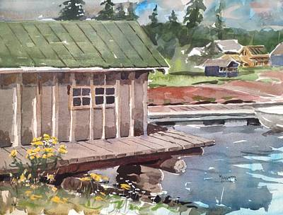 Fish House Original by Spencer Meagher