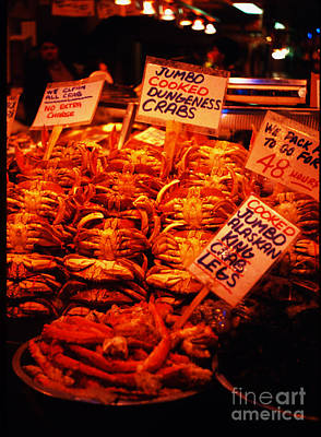 Fish Market Print by Ron Roberts