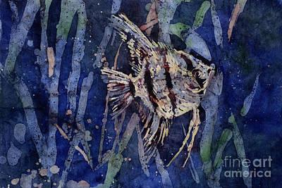 Angelfish Painting - Fish N Flips by Ryan Fox