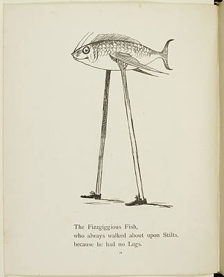 Edition Photograph - Fish On Stilts by British Library