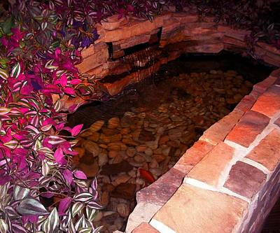 Florals Photograph - Fish Pond by Catherine Ratliff