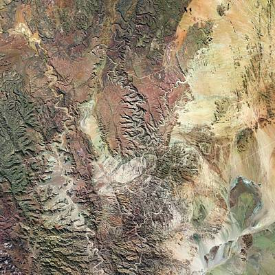 Fish River Canyon Print by Us Geological Survey