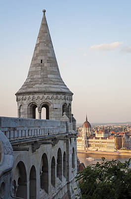 Fishermans Bastion. Budapest. Print by Fernando Barozza