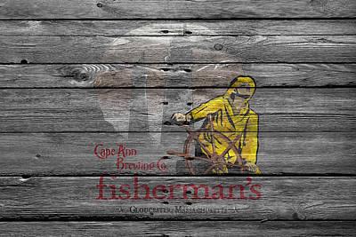 Handcrafted Photograph - Fishermans by Joe Hamilton