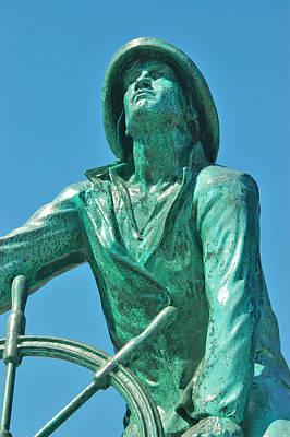 Usa Photograph - Fisherman's Memorial by Joann Vitali