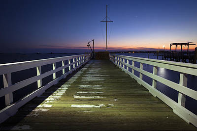 Fishermans Wharf Print by Eric Gendron