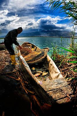 Fishing - 16 Original by Okan YILMAZ