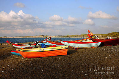 Denmark Photograph - Fishing Boats At Klitmoeller Denmark by Niels Quist