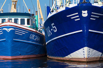 Flevoland Photograph - Fishing Boats by Hans Engbers
