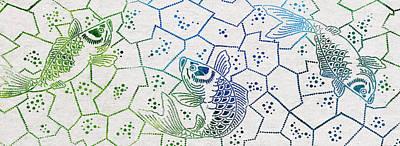 Angling Digital Art - Fishing Net by Aged Pixel