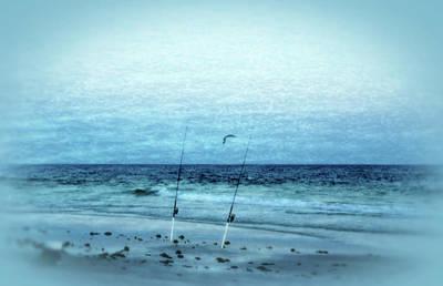 Panama City Beach Fl Photograph - Fishing by Sandy Keeton