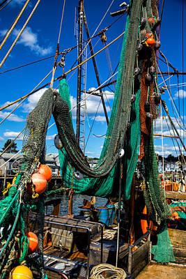 Gone Fishing Photograph - Fishing Vessel by Karol Livote