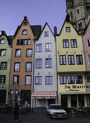 Fourteenth Photograph - Fishmarket Townhouses 2 by Teresa Mucha