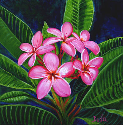 Obtusa Painting - Five By Five by Susan Duda