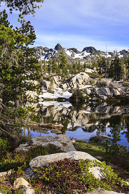 Five Lakes Basin 2 Print by Karma Boyer