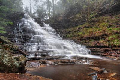 Fl Ricketts Waterfall Print by Lori Deiter