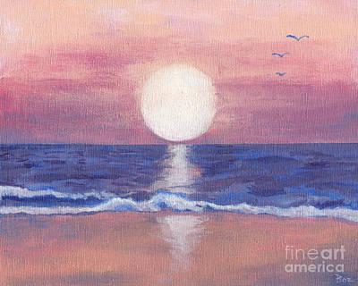 Roz Barron Abellera Painting - Flagler Beach Dream by Roz Abellera Art