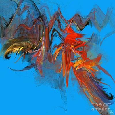 Artport Digital Art - Flair by Jeanne Liander