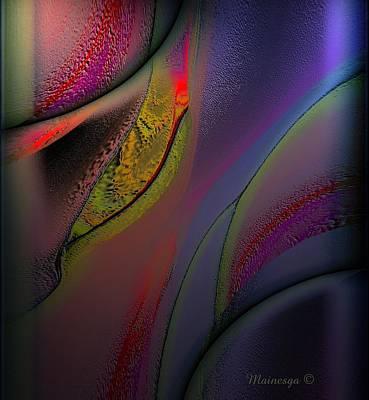 Flame-b Print by Ines Garay-Colomba