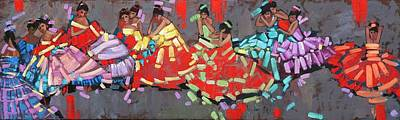 Flamenco ....... Remembering Degas Original by Anastasija Kraineva