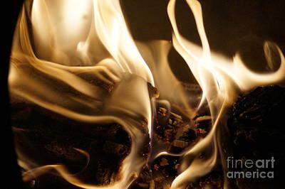 Flames Print by Zori Minkova