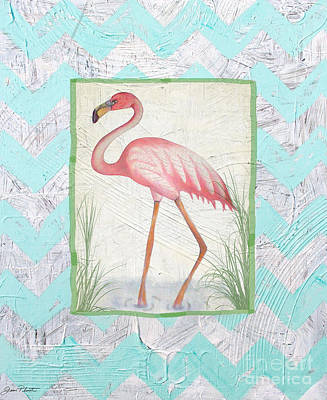 Flamingo  Original by Jean Plout
