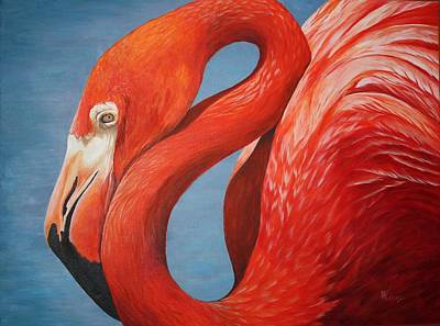 Painting - Flamingo by Pam Kaur