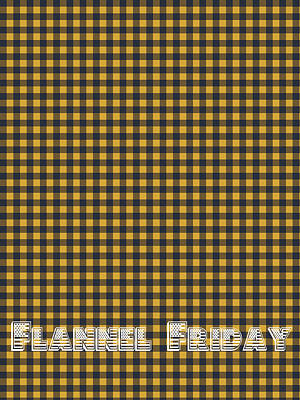 Fabric Digital Art - Flannel Friday by Celestial Images