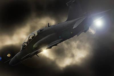 Hawk Mk 120 Photograph - Flash by Paul Job