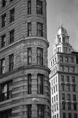 New York Photography - Flatiron Building II Print by Dave Beckerman
