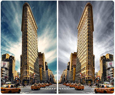 Flatiron Building  Print by AHcreatrix