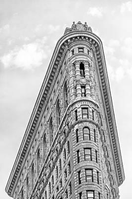 Flatiron Building Bw Print by Susan Candelario