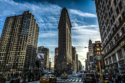 Architecture Photograph - Flatiron Building by David Morefield