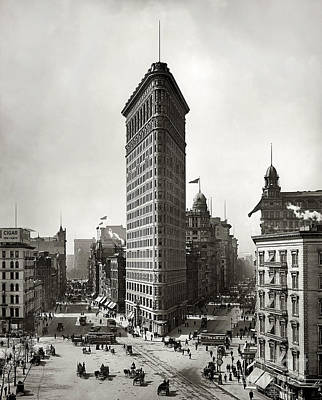 Flatiron Building Print by Jon Neidert