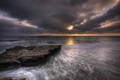 Torreys Photograph - Flatrock by Peter Tellone