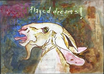 Flayed Dreams Print by Sumit Banerjee