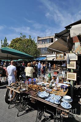 Bazaar Photograph - Flea Market In Athens by George Atsametakis