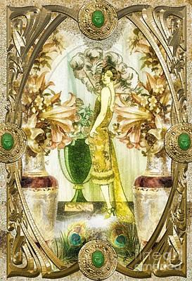 Fleurdelys Print by Mo T