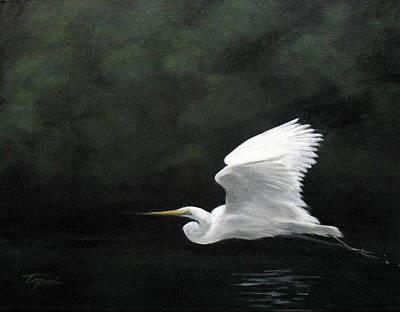 Soaring Painting - Flight by Mary Taglieri