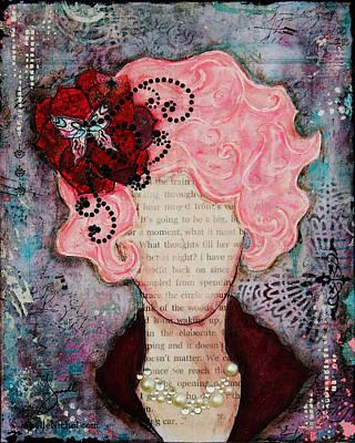 Flight Of Fancy By Janelle Nichol Print by Janelle Nichol