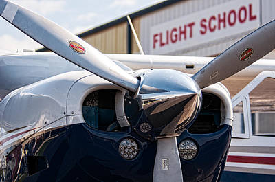 Andy Crawford Photograph - Flight School by Andy Crawford