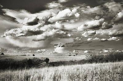 Flint Hills Prairie Print by Thomas Bomstad