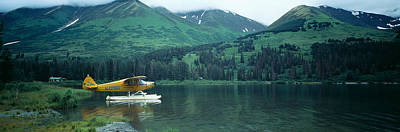 Float Plane Kenai Peninsula Alaska Usa Print by Panoramic Images