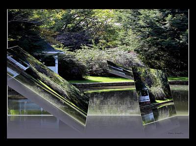 Delightful View Mixed Media - Floating Landscape B by Debra     Vatalaro