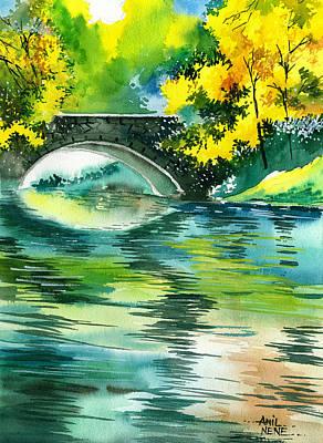Floods R Print by Anil Nene