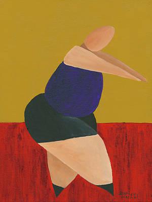 Ballet Painting - Floor Dancer 5 by Darice Machel McGuire