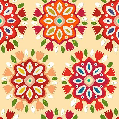 Flor Print by Sharon Turner