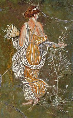 History Painting - Flora - Study No. 2 by Steve Bogdanoff