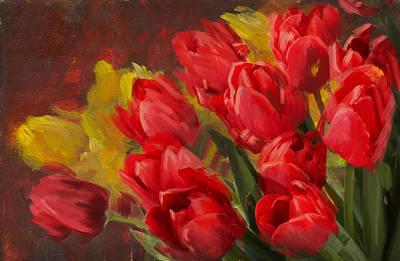 Floral 12 Original by Mahnoor Shah