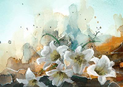 Floral 14b Print by Mahnoor Shah